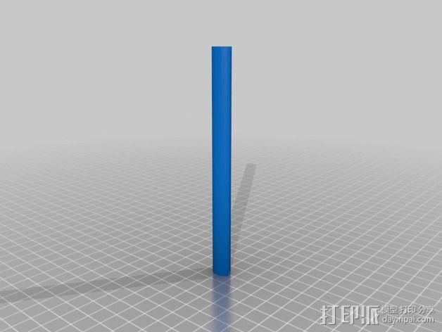 RoBo 3D打印机顶部线轴支架 3D模型  图8