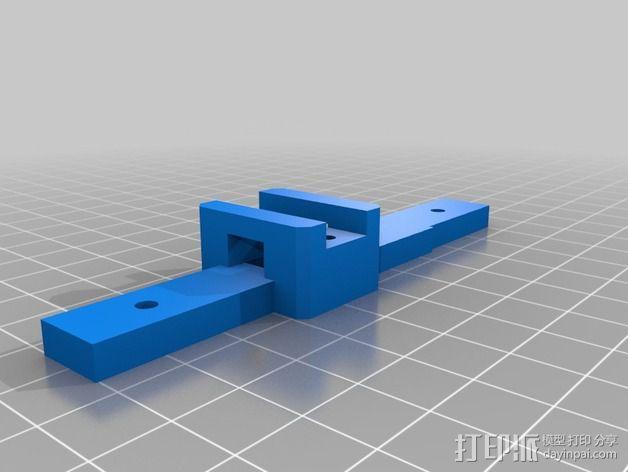 齿轮挤出机 3D模型  图3