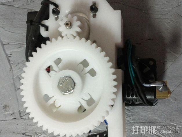 齿轮挤出机 3D模型  图12