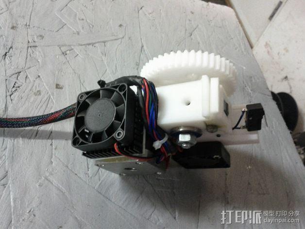 齿轮挤出机 3D模型  图13