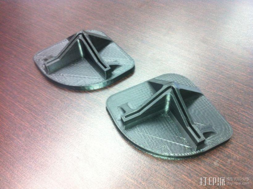 打印机脚垫 3D模型  图2