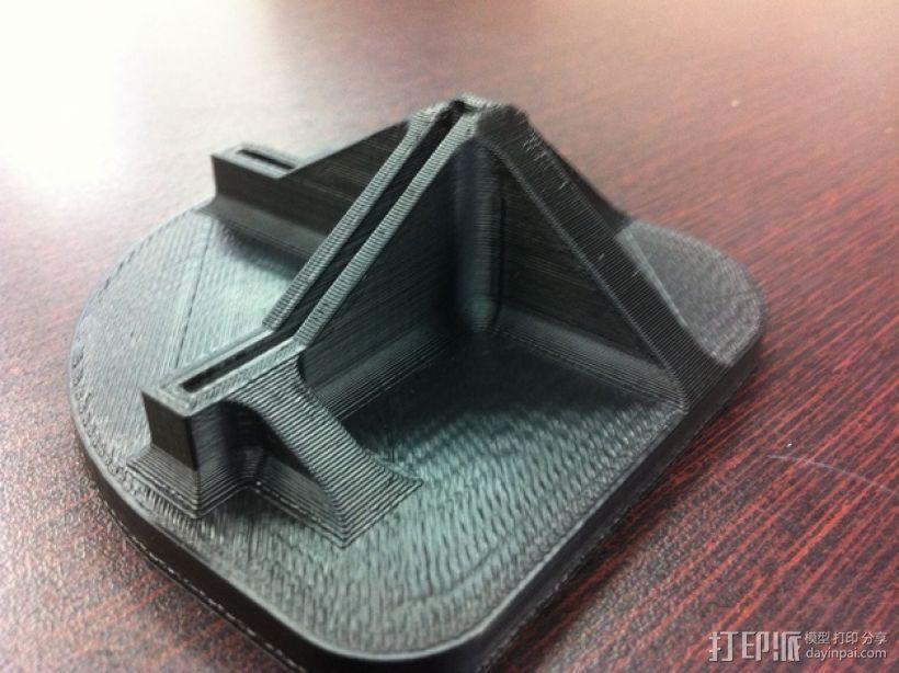 打印机脚垫 3D模型  图3