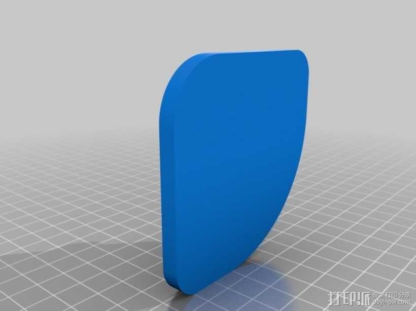 打印机脚垫 3D模型  图5