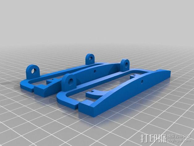 电路板风扇 3D模型  图4