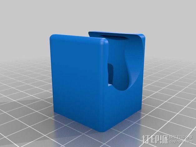 挤出机 喷头支架 3D模型  图7