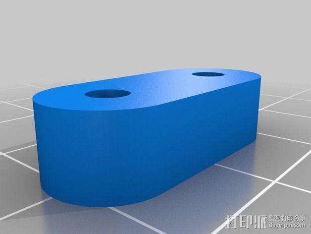 挤出机 喷头支架 3D模型  图10