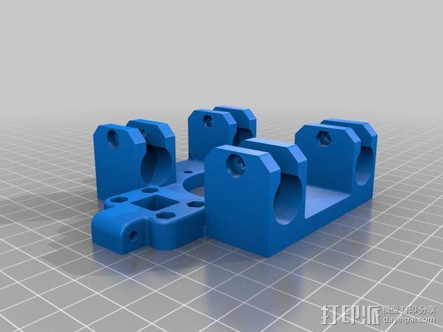 挤出机 喷头支架 3D模型  图11