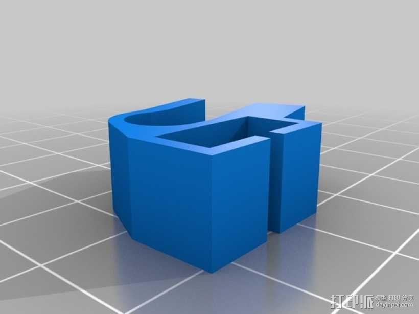打印机X轴和Z轴限位开关 3D模型  图1