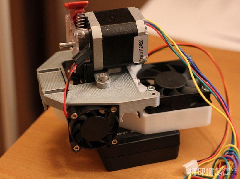 Mendel90直线驱动挤出机 3D模型  图5