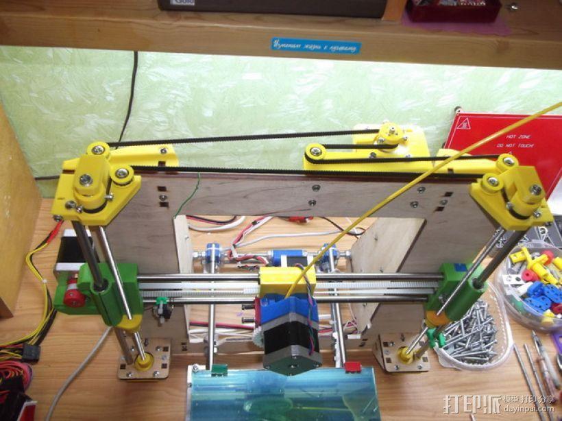 Prusa i3打印机的Z马达 3D模型  图1