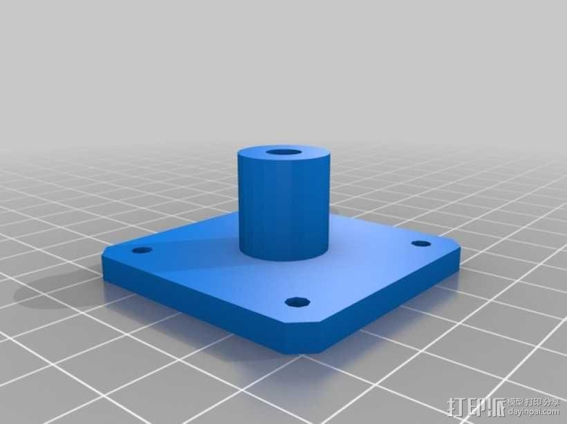 Prusa i3打印机的Z马达 3D模型  图6