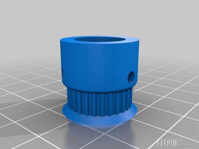 Prusa i3打印机的Z马达 3D模型  图12