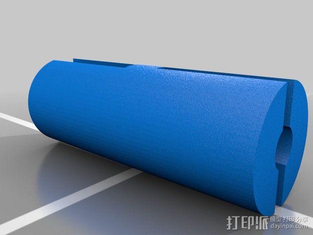 防摇晃耦合器 3D模型  图2