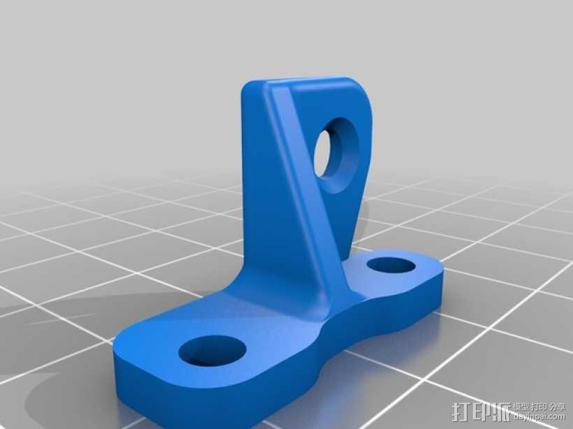 MendelMax 2.0打印机导线器 3D模型  图2