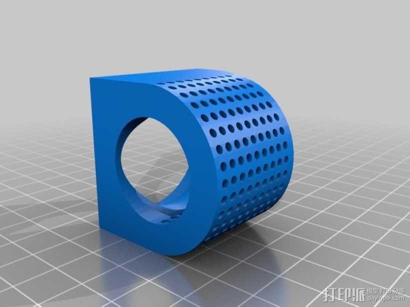 风扇适配器 风扇支架 3D模型  图4