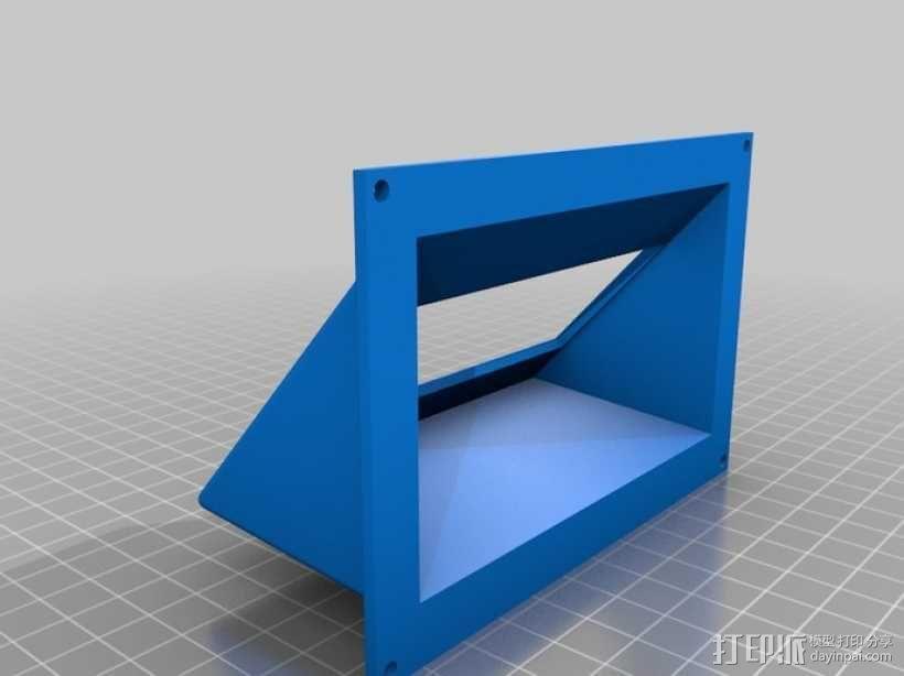 显示屏支架和保护壳 3D模型  图2