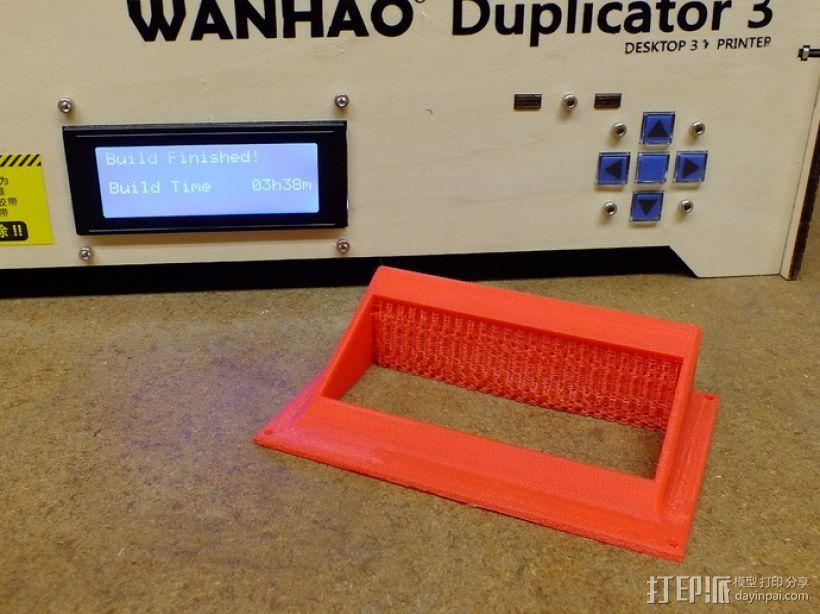 显示屏支架和保护壳 3D模型  图3