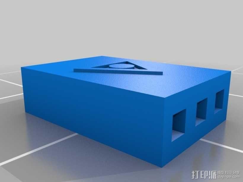 插头连接器 3D模型  图3
