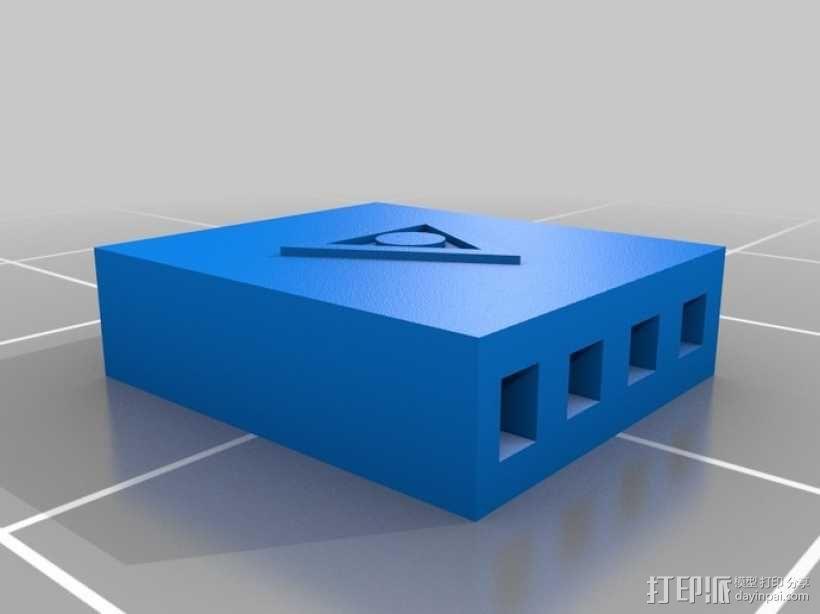 插头连接器 3D模型  图4