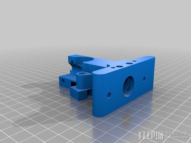 Greg's Wade挤出机 3D模型  图2