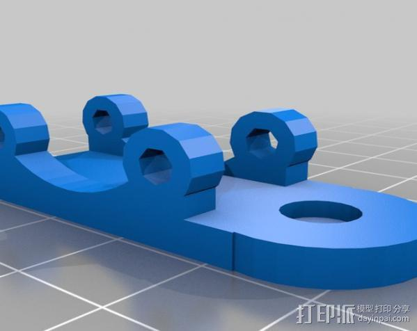 Greg's Wade挤出机 3D模型  图4