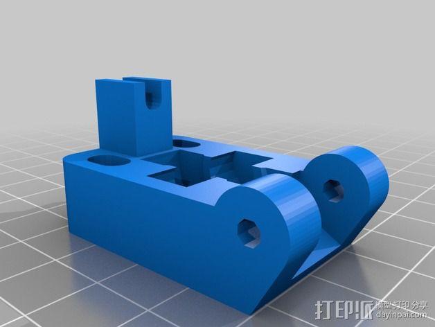 Greg's Wade挤出机 3D模型  图3