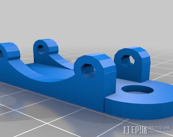 Greg's Wade挤出机 3D模型  图5