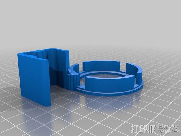 打印床校准工具 3D模型  图2
