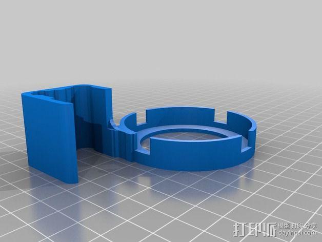 打印床校准工具 3D模型  图3