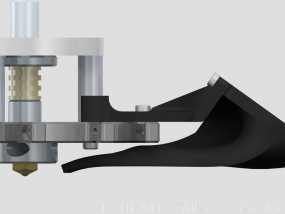 风扇导管 3D模型