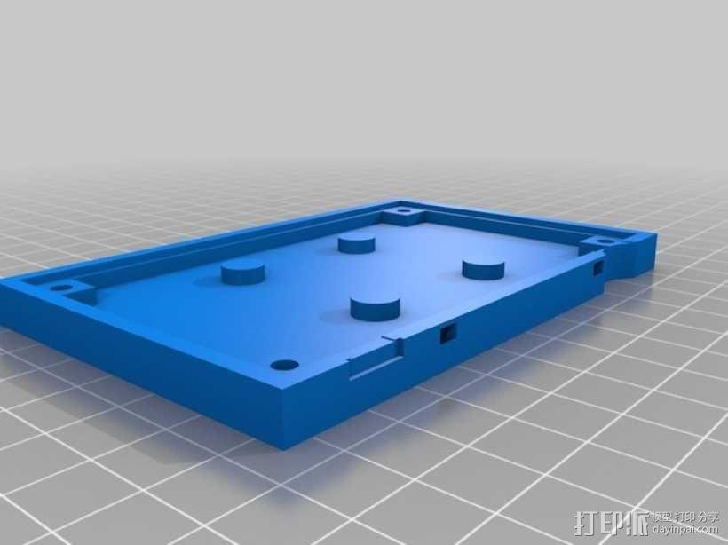 电路板风扇外盒 3D模型  图2