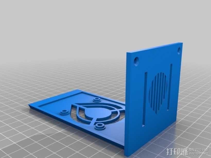 RAMPS 1.4电路板外罩 3D模型  图2