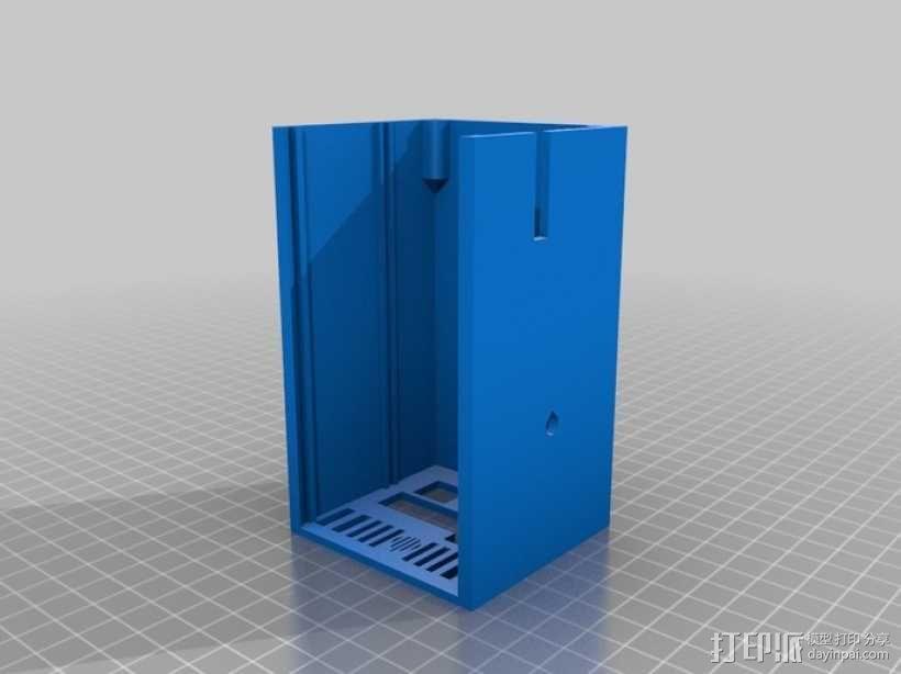 RAMPS 1.4电路板外罩 3D模型  图1