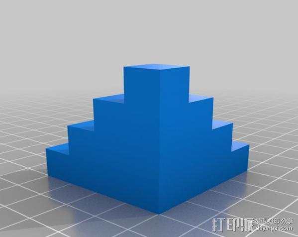 校准方块 校准器 3D模型  图1