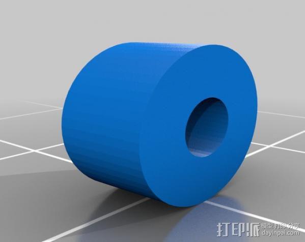 齿轮挤出机喷头支架 3D模型  图10