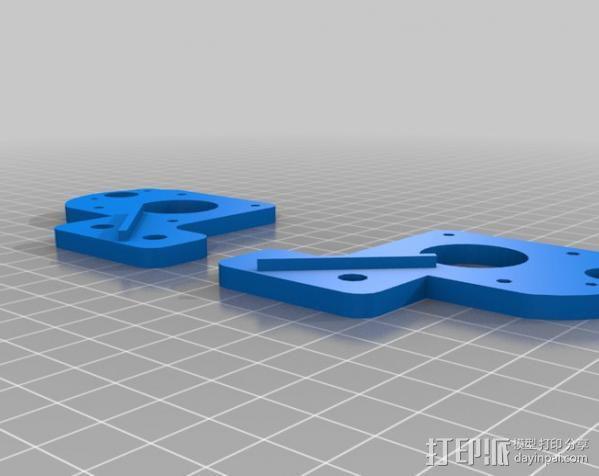 MendelMax打印机 3D模型  图3