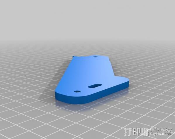 MendelMax打印机 3D模型  图9