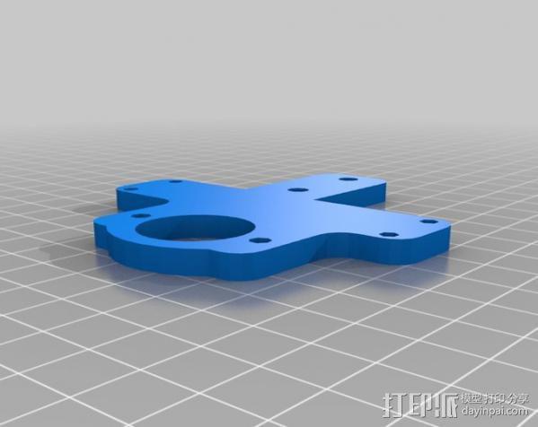 MendelMax打印机 3D模型  图14