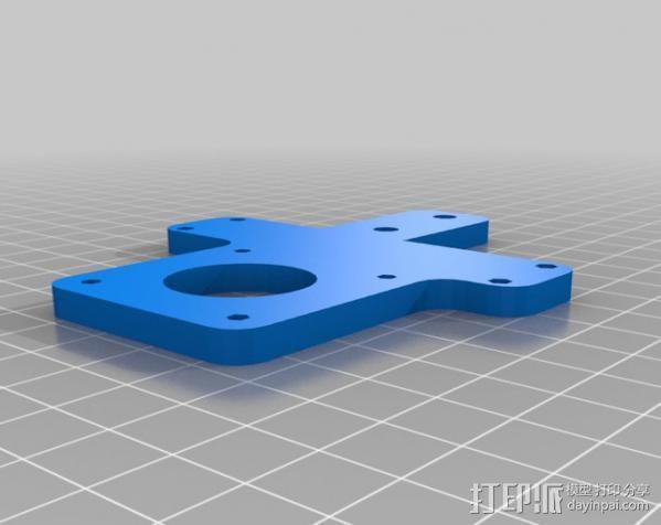 MendelMax打印机 3D模型  图19