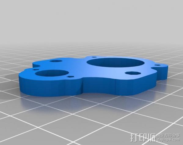 MendelMax打印机 3D模型  图21