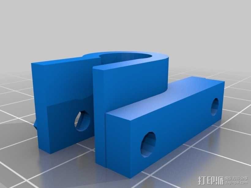 z-end支架 3D模型  图2