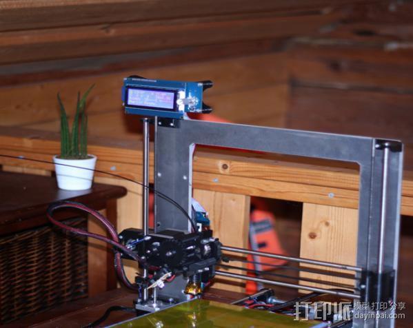液晶显示屏支架 3D模型  图2