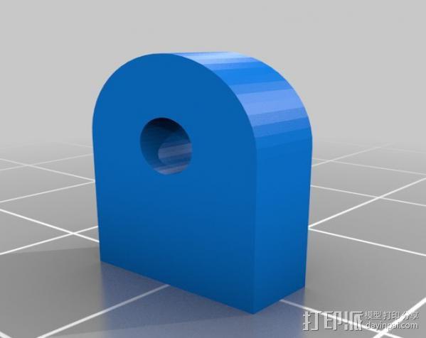 液晶显示屏支架 3D模型  图4