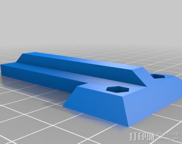 液晶显示屏支架 3D模型  图5