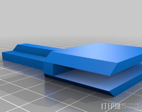 液晶显示屏支架 3D模型  图7