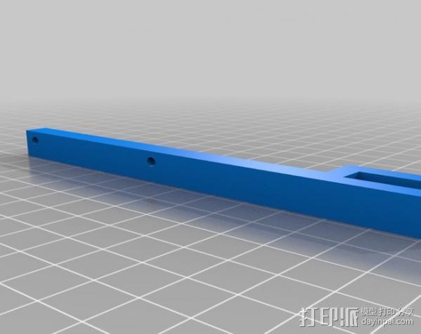 智能控制器外框 支架 3D模型  图2