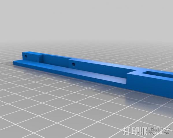 智能控制器外框 支架 3D模型  图3