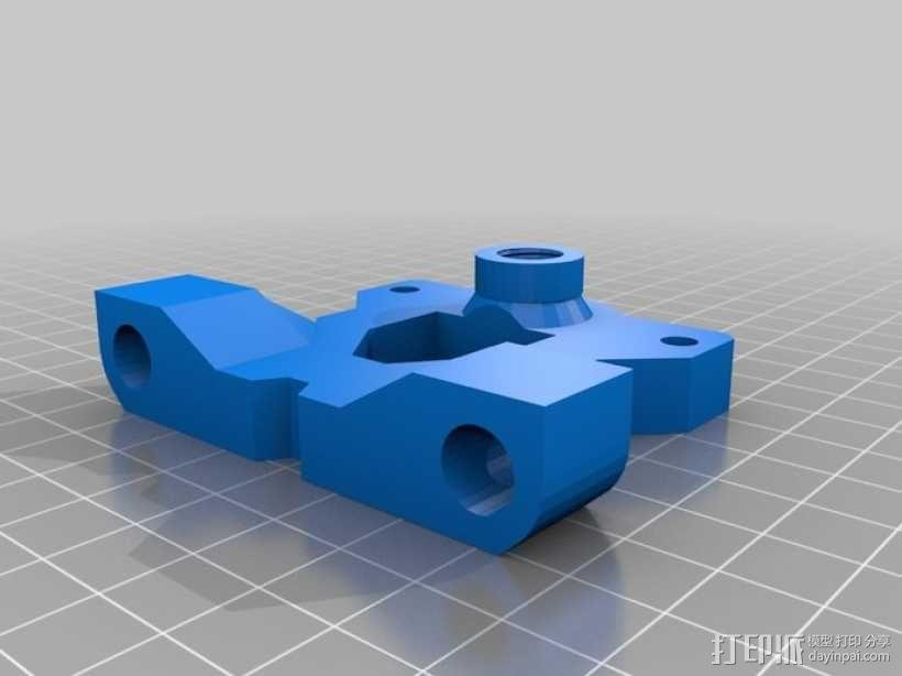 LM8UU轴承支架 皮带固定器  3D模型  图4