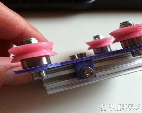 双横梁导轨支撑器 3D模型  图8