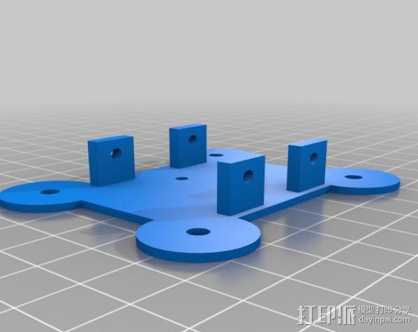 双横梁导轨支撑器 3D模型  图10